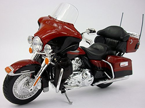 2013 Harley Davidson FLHTK Electra Glide Ultra [Maisto 32323], Rot, 1:12 Die Cast