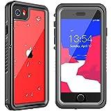 Nineasy iPhone SE 2020 Waterproof Case, iPhone 7/8