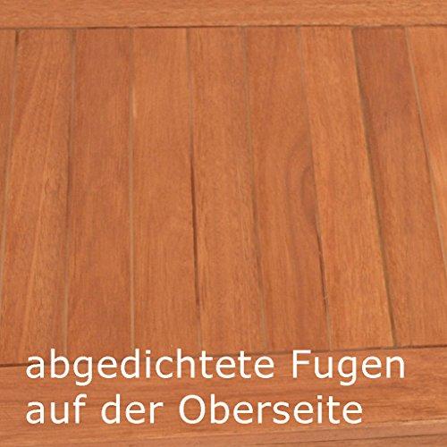 gartenmoebel-einkauf Kissenbox mit Deckel aus Eukalyptus Holz 88x45x45, FSC®-Zertifiziert - 4