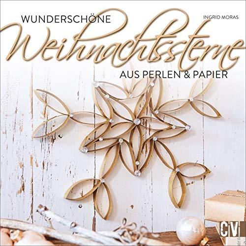 Wunderschöne Weihnachtssterne: Aus Perlen und Papier