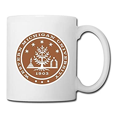 White Western Michigan University Sab04Fl Ceramic Coffee Mug Cup 11oz Unisex Printed On Both Sides