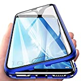 Eabhulie Huawei Honor View 10 Coque, Verre trempé Couverture Plein écran avec Adsorption...
