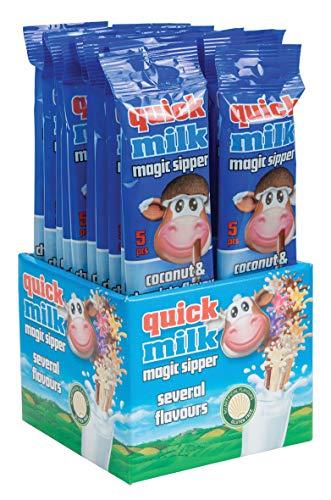 Espositore n. 20 Cannucce Aromatizzate Choco-Cocco per Latte 30 gr