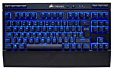 Corsair K63 Wireless Tastiera Meccanica Gaming, Cherry MX Red, Retroilluminato LED Blu, Italiano QWERTY, Nero