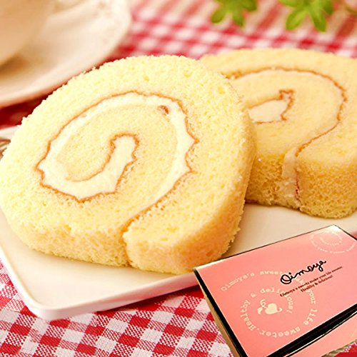 誕生日 の プレゼント お祝いギフト ケーキ洋菓子 スイーツ プチギフト 小分け ばらまき ポテトロールケーキ カットタイプ(プレーン)