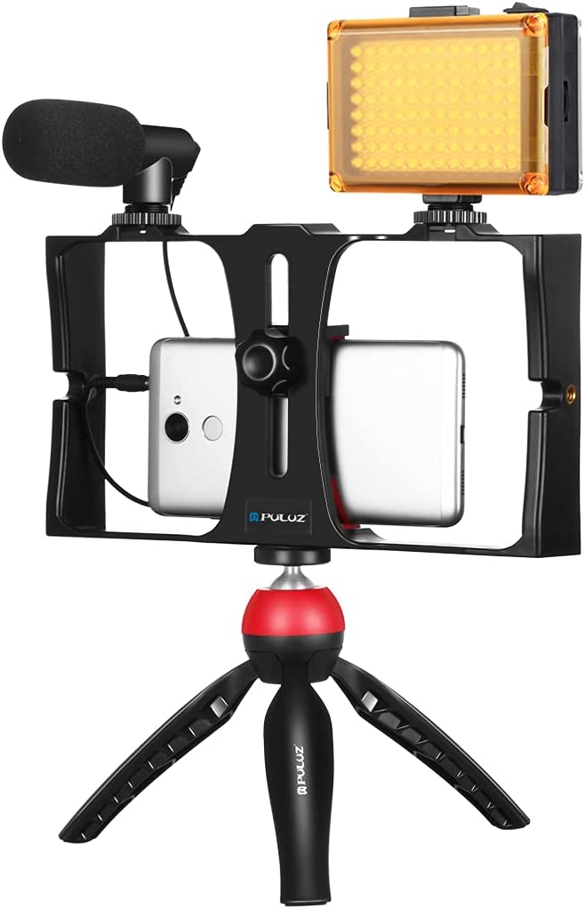 Smartphone Video Classic Rig Kit Grip with PULUZ 2021 new Microp