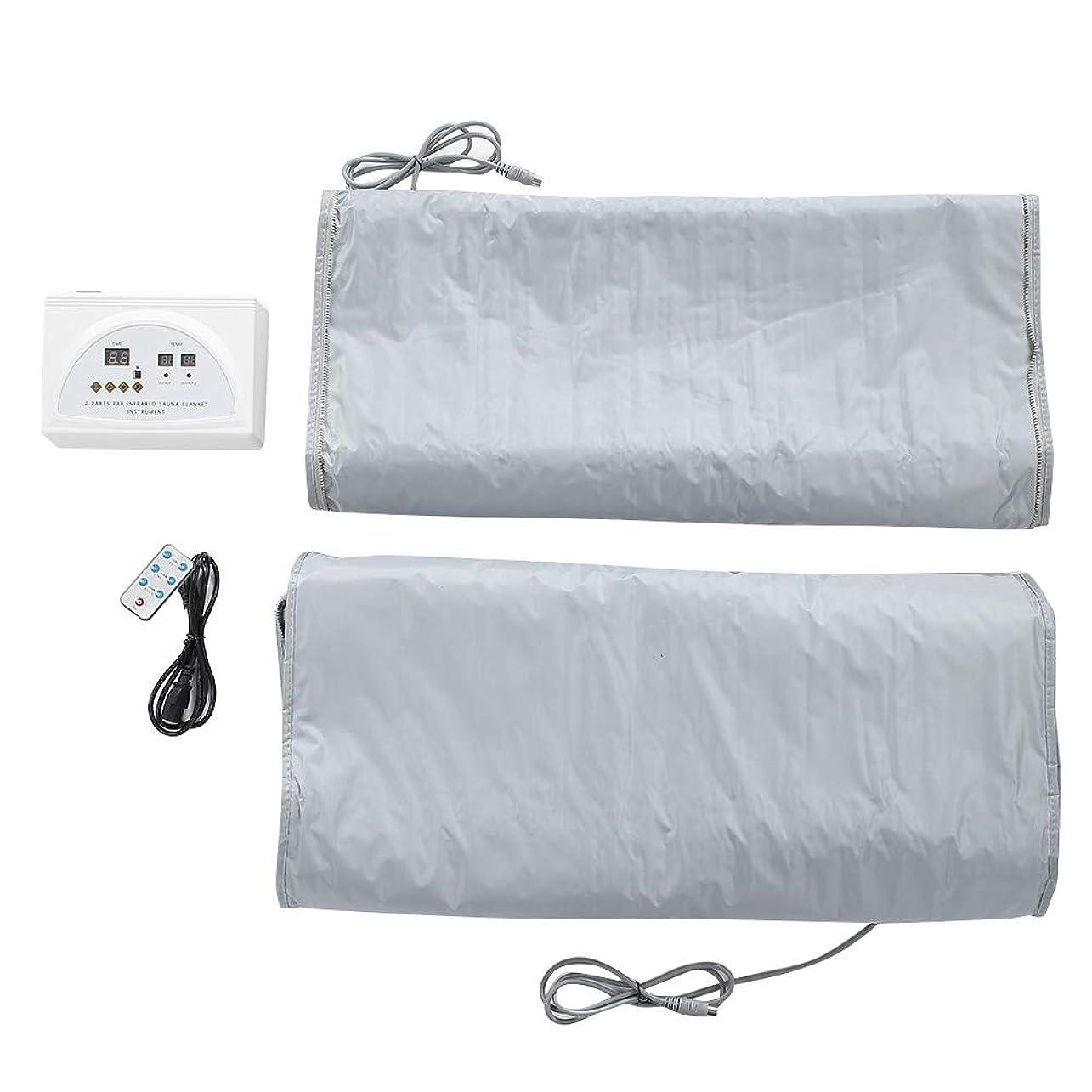 コードレス直立レッスン毛布220Vサウナ暖房毛布ボディ形状痩身フィットネスマシン英国プラグ