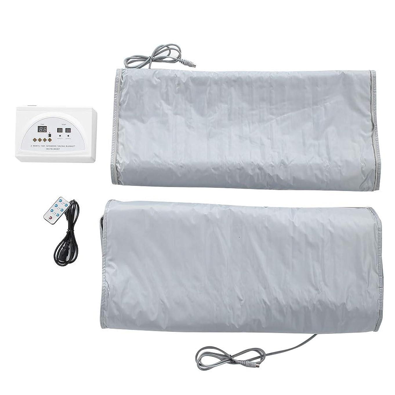 用心蓄積するインシュレータ毛布220Vサウナ暖房毛布ボディ形状痩身フィットネスマシン英国プラグ