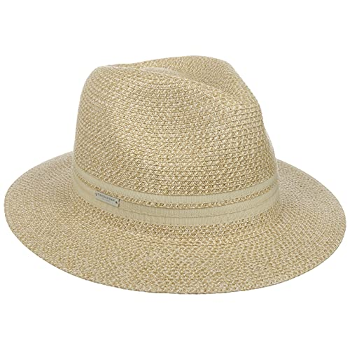 Seeberger Sombrero de Paja Salisa Traveller Verano Mujer (Talla única - Natural)