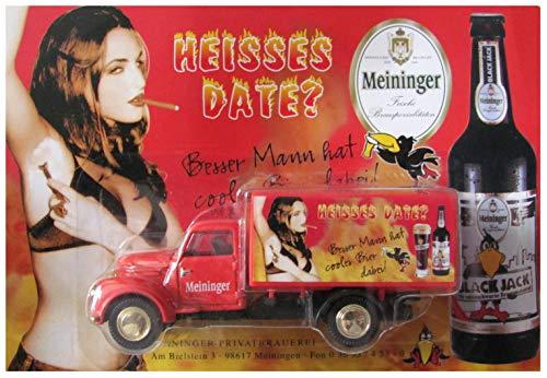 Meininger Nr.31 - Heisses Date - Besser Mann hat Cooles Bier dabei - Framo V501 - Oldtimer