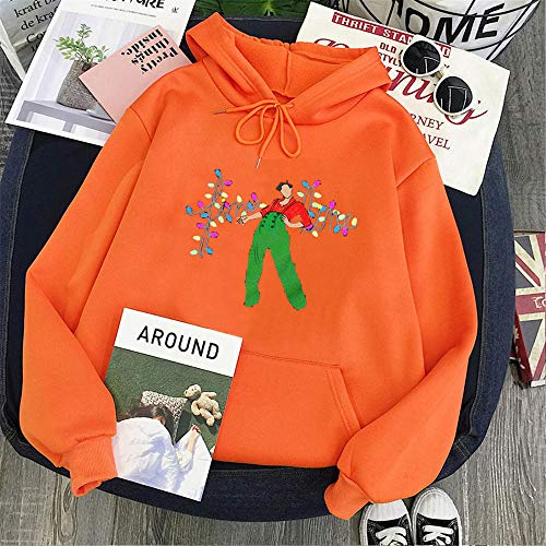 CCYUANG Sudadera con capucha para hombre, diseño navideño de Harry Styles-11_XXL