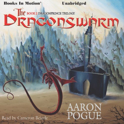 The Dragonswarm audiobook cover art