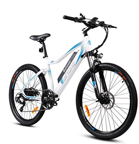 eAhora XC100 26 Inch 48V Mountain Electric Bikes for Adult 350W Cruise Control Urban Commuting Electric Bicycle Removable Lithium Battery, E-PAS...