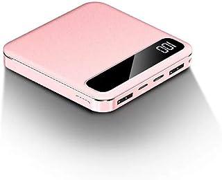 SACYSAC Bärbar laddare 10 000 mAh mobil strömförsörjning, LED digital display dubbel utgångsport, kompatibel med Apple, ko...