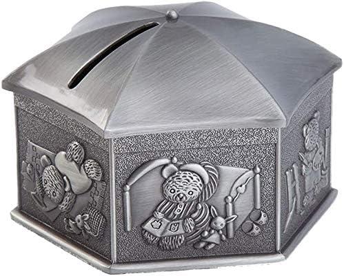 Easy-to-use Bxfdc Piggy supreme Bank Travel Souvenir Gift Metal Crafts Jar Allo Zinc