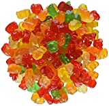 Gummies shaped like bears in bulk bag Great snacking for kids of all ages. Bulk size is perfect for packing snacks and lunch boxes. Classic gummy bear in a fun size. Perfect to share with family and friends for anytime snacking.