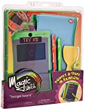 Boogie Board Magic Sketch Color LCD Writing Tablet + 4 Different Stylus and 9 Double-Sided Stencils for Drawing, Writing, and Tracing eWriter Ages 4+ (J3MS10001)