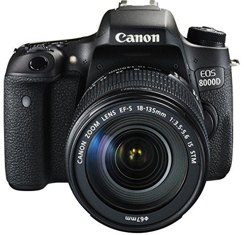 Canon デジタル一眼レフカメラ EOS 8000D レンズキット EF-S18-135mm F3.5-5.6 IS STM 付属 EOS8000D18135I...