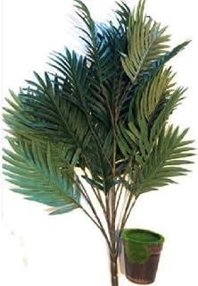its 人工観葉植物 観葉植物 造花セット 壁掛け インテリア 結婚式 グリーン ウォール 植物装飾 ヤシ(グリーン 2)