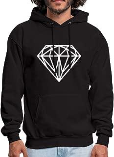 Diamond Hipster Men's Hoodie