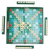 Crucigrama, 2-4 personas Plástico + Cartón Juego de mesa de crucigrama, Tablero de crucigramas, para personas mayores de 6 años Niños Niños para la familia