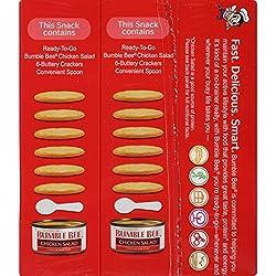 BUMBLE BEE Snack On The Run Crackers Kit, Cheesy Tuna Melt, 3.35...