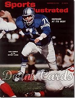 Sports Illustrated - With Label November 30 1964 - Alex Karras (Detroit Lions) Detroit Lions (Magazine/Publication) (Has Address Label on Front) Dean's Cards 3 - VG Lions
