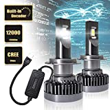 H11 LED Headlight Copper with Built-In Decoder CREE Chips, 12000...