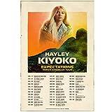 QQWER Hayley Kiyoko Erwartungen Nordamerika Tour Art Poster