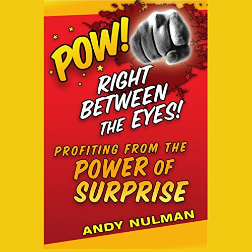 Pow! Right Between the Eyes audiobook cover art