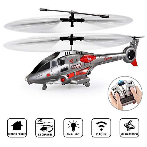 GoStock Helicóptero RC Helicóptero de...