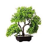 Künstlicher Baum Kreative Simulation von Topf Künstliche Kiefer In Mailand, Innen Simulation von Grünpflanzen Dekoration, Wohnzimmer-Dekoration, gefälschte Blumen, künstliche Plastik Bonsai Künstliche