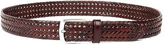 Trafalgar Enzo Braided Casual Brown Belt