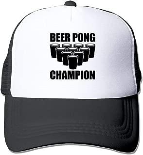 Beer Pong Champion Big Foam Mesh Truck Cap Mesh Back Adjustable Cap