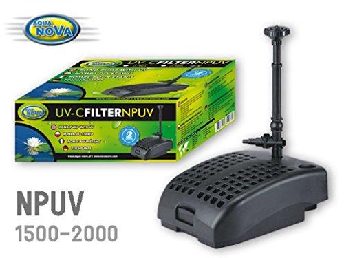 Pompe filtrante NPUV2000 9W aqua Nova