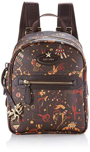piero guidi Back Pack, Borsa a Zainetto Donna, Marrone (Fango), 20,50x23x12 cm (W x H x L)