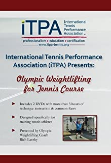 iTPA Olympic Weightlifting for Tennis DVD Course