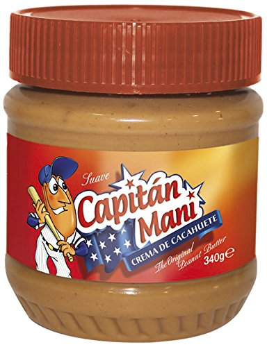 Capitán Maní - Bote Crema De Cacahuete Suave 340 g