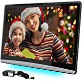 13.3 Inch 4K Android Car Headrest Video Player with 2.4G/5G Dual Brand WiFi,Car TV Touch Screen Tablets Support Netflix HDMI in/Out/Bluetooth/USB/SD/FM headrest Monitor