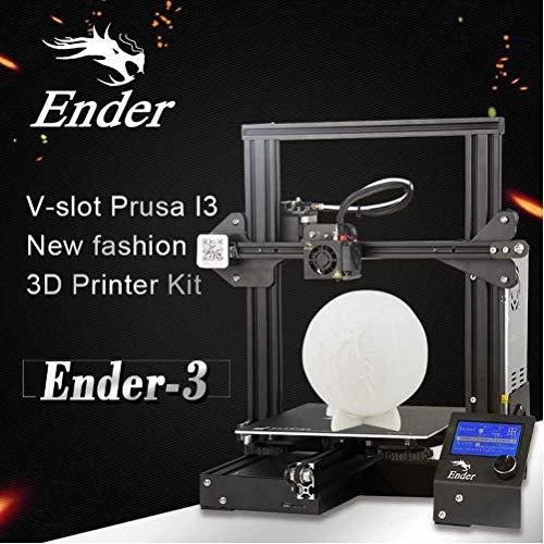 Laecabv Creality Ender 3 3D Printer Impresora 3D -  Má