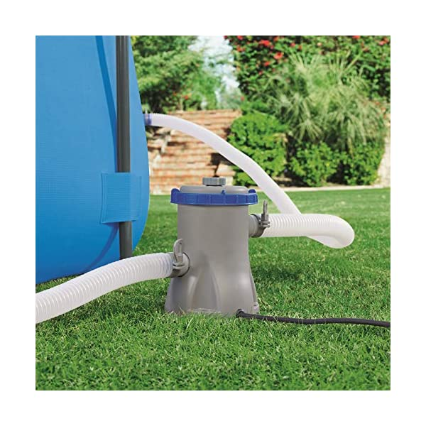 Bestway Steel Pro Rectangular Suelo, Blue