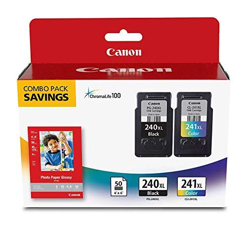 CNM5206B005-5206B005 PG-240XL CL-241XL High-Yield Ink/Paper Combo