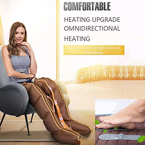 Affordable Leg Massager, 5 Cavity Hot Compress, Profession Lymphatic Drainage Promote Blood Circulat...