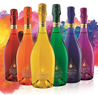 Accademia Rainbow Prosecco DOC 75cl By Bottega Limited Edition (CASE OF 6)