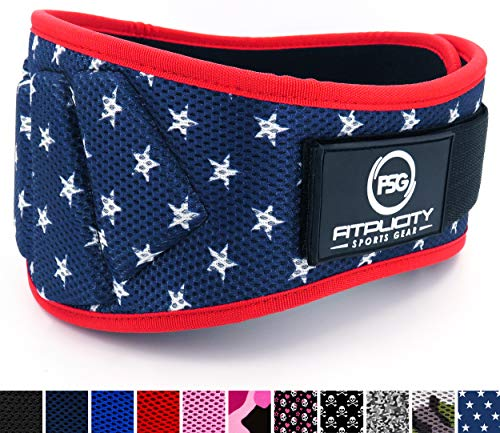 Fitplicity Weight Lifting Belt (Old Glory, Small)