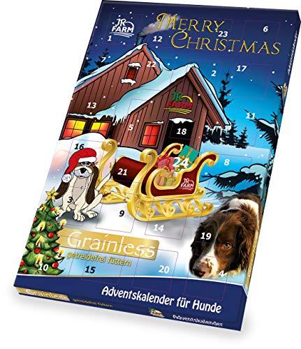 JR Farm Adventskalender für Hunde 110g Getreidefrei zu Weihnachten