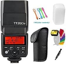 Godox TT350-O TTL GN36 High Speed Sync 1/8000s 2.4G Speedlite Flash Compatible for Olympus E-M10II,E-M5II,E-M1,E-PL8,E-PL7,E-PL6,PL5,E-P5,E-P3,PEN-F,Panasonic DMC-GX85,DMC-G7,DMC-GF1,DMC-LX100,DMC-G85