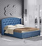 Best Upholstered Bed - CasaCraft by Pepperfry - Danilo Upholstered King Size Review
