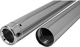 Dew Mfg 41mm Show Chrome Fork Tubes 20.25