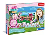 Clementoni - Sapientino-Alfombra Gigante Interactivo-Cry Babies-Puzzle para niños-Juegos Quiz (versión en Italiano) -Fabricado en Italia, 3 años +, 16279